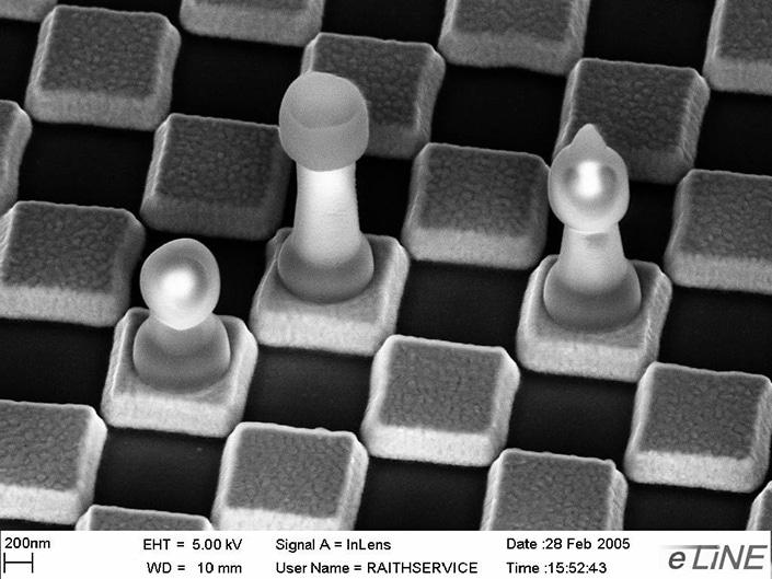 3D nanosculpturing by electron beam induced deposition (EBID)