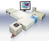 NanoLog™ spectrofluorometer from Horiba Scientific, specifically designed to detect fluorescence from nanomaterials.