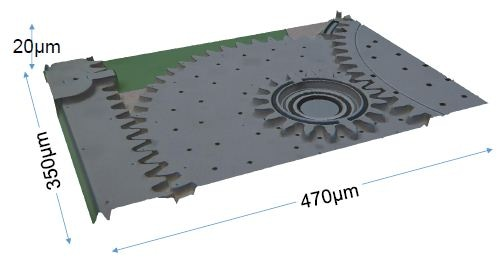 MEMS Device for sensing pressure