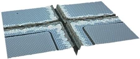 Gallium nitride on sapphire wafer