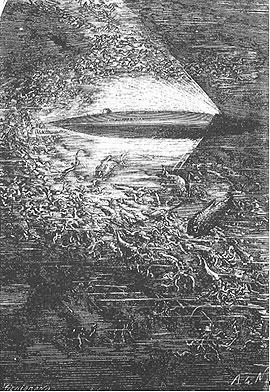 Original illustration of the Nautilus.