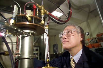INL scientist Peter Kong is putting plasma to work, using it to produce nanoparticles, synthesize materials to store hydrogen and convert heavy hydrocarbons to transportation fuels.