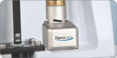 NanoLens AFM Module installed on a bench-top ContourGT-I 3D Optical Microscope.