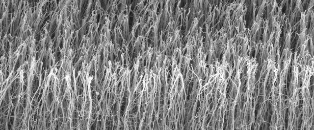 Carbon nanotubes can improve the electrical, thermal and mechanical properties of ceramic materials.