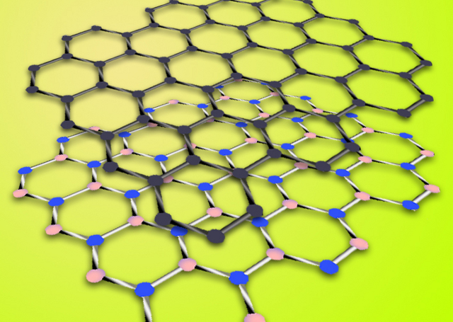 Hexagonal boron nitride has a similar structure to graphene - this makes it ideal for use as a substrate to preserve graphene