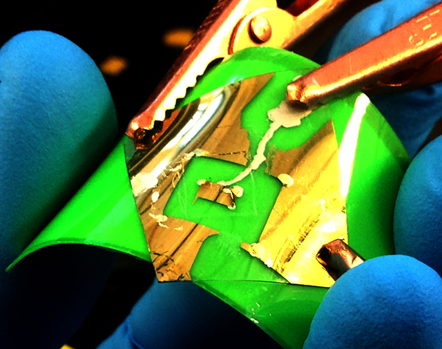 Heterostructures based on 2D atomic crystals can be used for photovoltaic applications.
