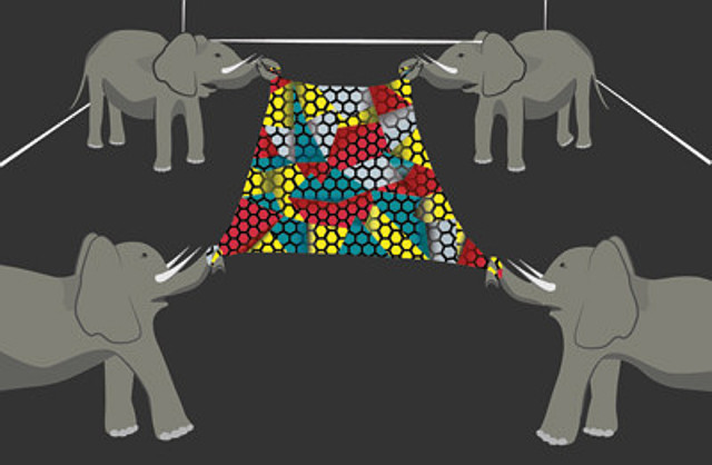 """Graphene remains the strongest material ever measured and, as Professor Hone once put it, so strong that """"it would take an elephant, balanced on a pencil, to break through a sheet of graphene the thickness of Saran Wrap."""""""