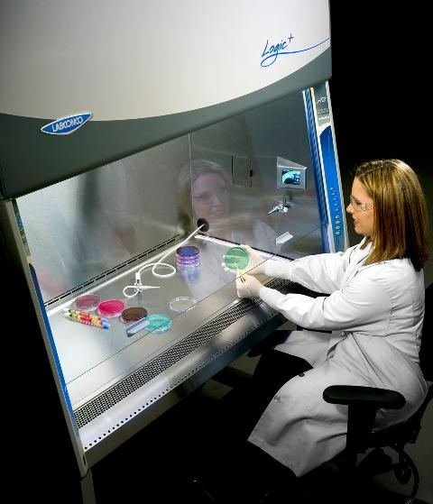 Purifier® Logic®+ Biosafety Cabinet.
