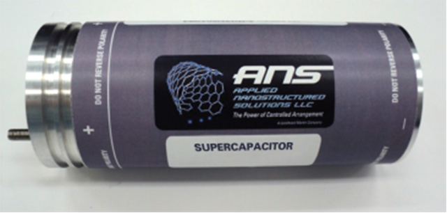 Supercap is a prototype supercapacitor.