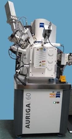 Hiden EQS on a Zeiss Auriga 60 FIB-SEM instrument