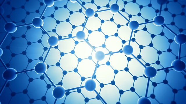 Graphene is a single-layered, extended, 2D carbon lattice.