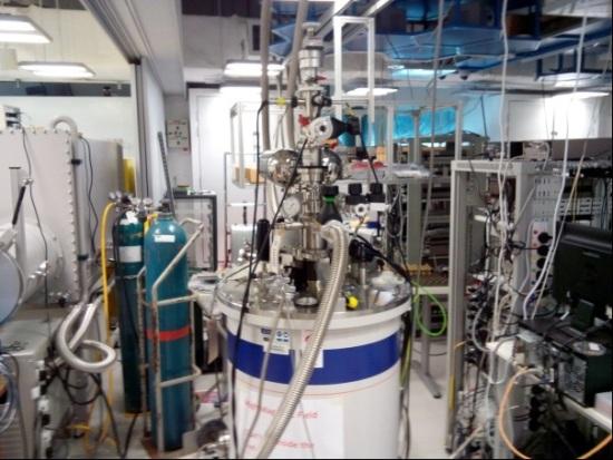 TeslatronTMPT Cryofree® system at Barbaros Ozyilmaz lab