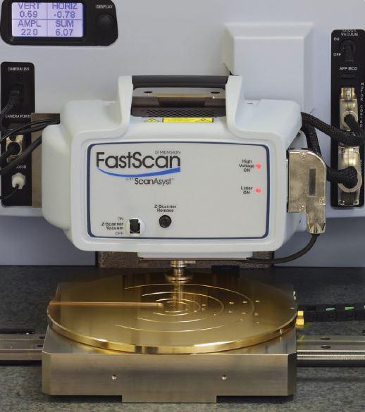 Most stable tip-scanning AFM.