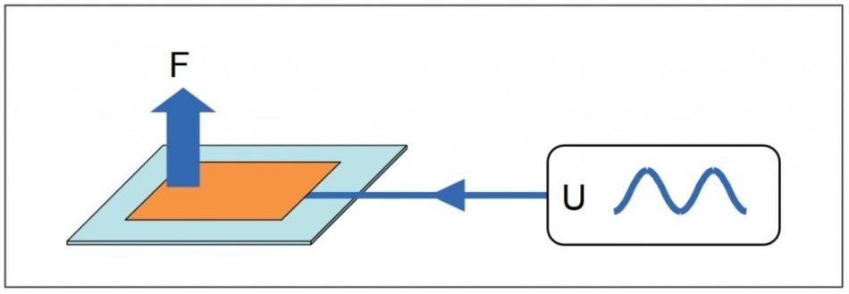 Inverse Piezoelectric Effect.