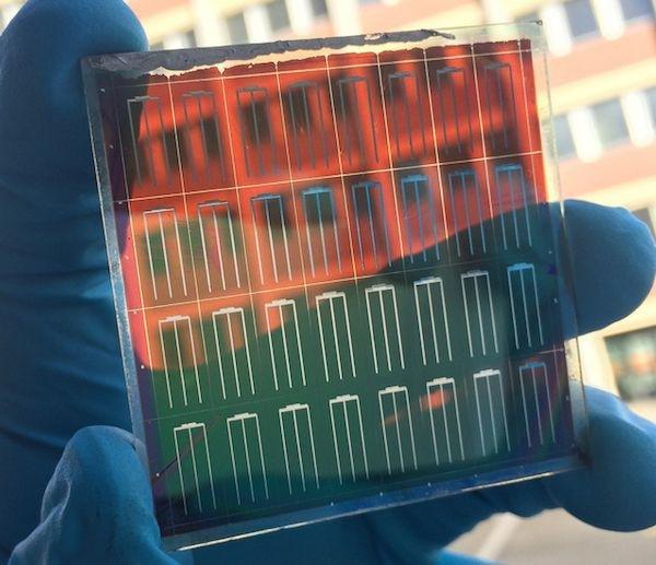 Graphene Solar Cells