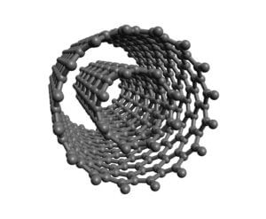 A Representation of a Double Walled Carbon Nanotube