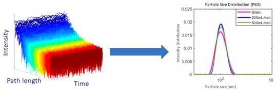 纳米粒子尺寸表征