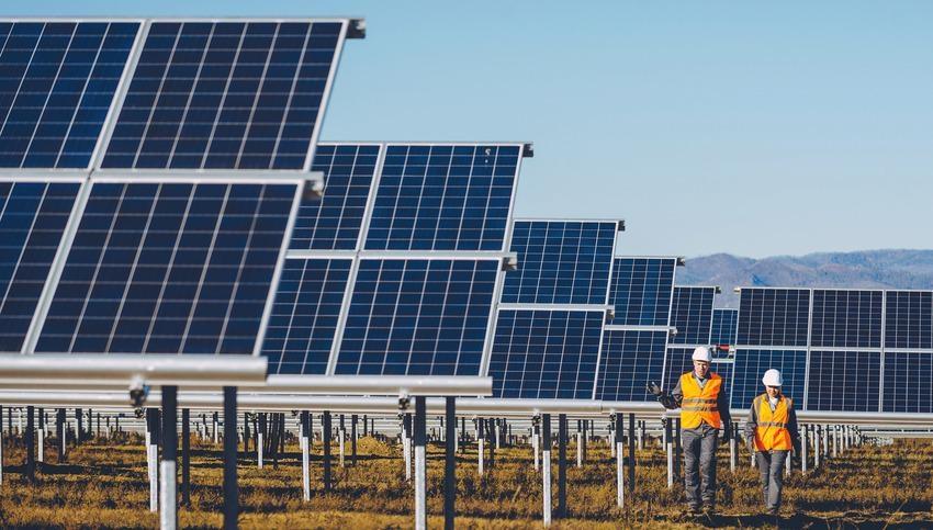 solar cell station