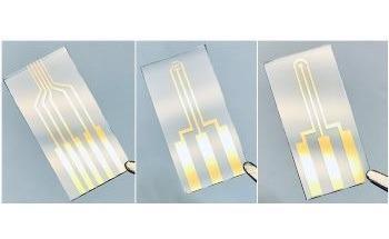 Understanding Patterned Electrodes
