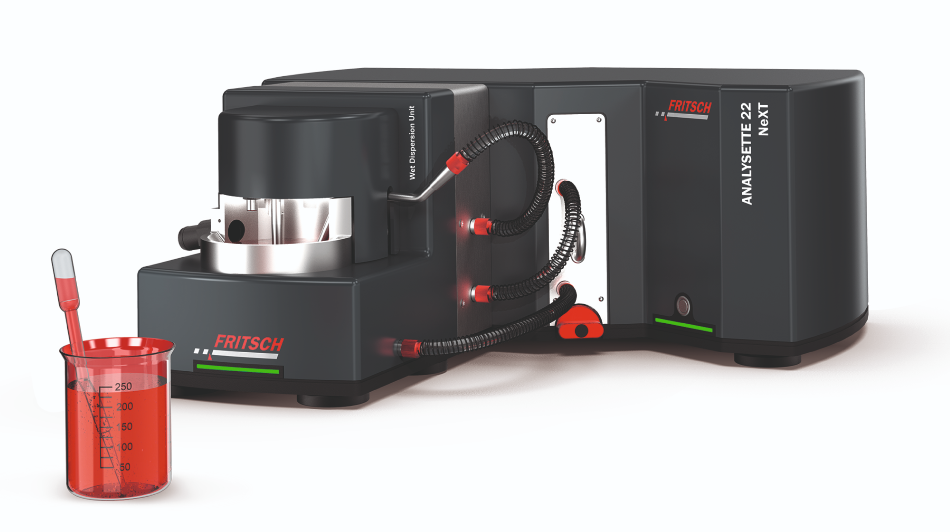 Laser Sizing of Nano and Microparticles - ANALYSETTE 22 NeXT Nano