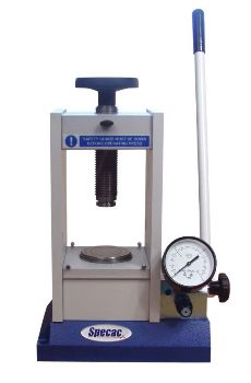 Manual Hydraulic Press (15 and 25 Ton) from Specac