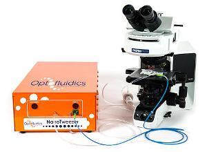 NanoTweezer Surface for Analysis of Nanoparticle Coatings from Optofluidics