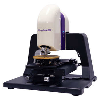 The MicroXAM – 800 White Light Interferometer for 3D Measurement of Surface Topography from KLA