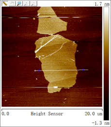 Typical AFM photograph of SE2430W-N.