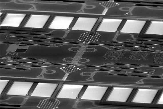 Photonic CNOT quantum gate.