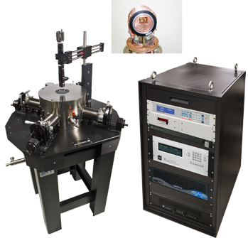 Cryogenic Probe Station with Horizontal Field Superconducting Magnet - Model CPX-HF from Lake Shore Cryotronics