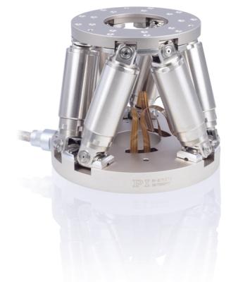 M-811 Compact Vacuum Compatible Parallel-Kinematics 6-Axis Hexapod Stewart Platform
