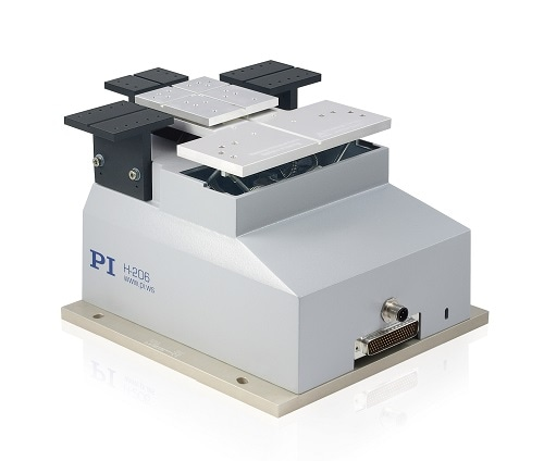 H-206 Automated Fiber Alignment System - 6-Axis, High Precision - Physik Instrumente