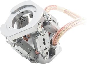 P-911K UHV-Compatible Miniature Piezo Hexapod from Physik Instrumente