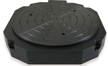 Precision Rotation Stage - Low Profile, Air Bearings, Direct Drive