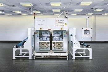Nanofiber Fabrication System - Elmarco Nanospider™ Production Line NS 4S1000U