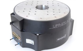 UPR-270 Air: Rotation Stage with Ultra-High Precision Air Bearings and Closed-Loop Angular Encoder from PI micos