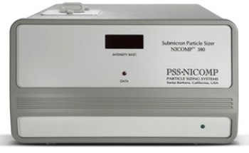 Nicomp 380 Nanoparticle Size Analyzer for Analysis of Proteins and Complex Biomolecules