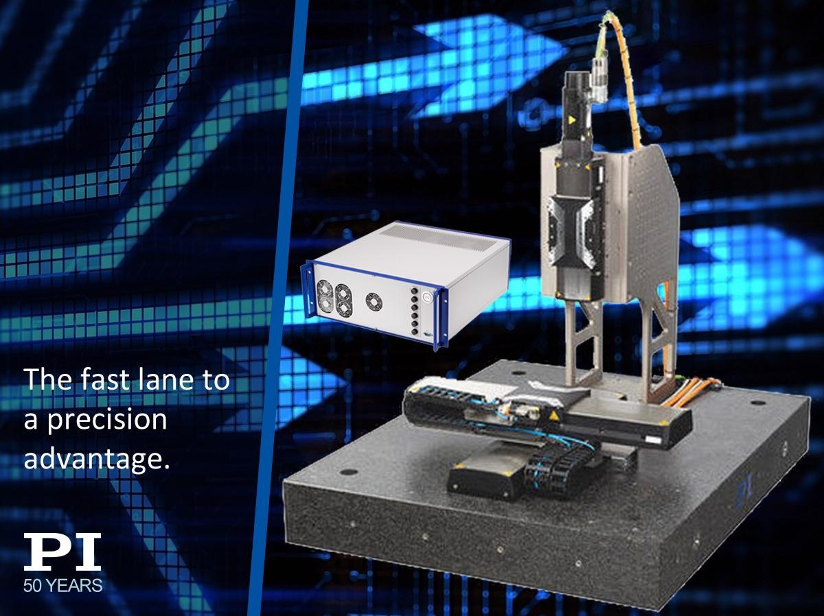 Flexible Multi-Axis Motion Sub-System for System Integrators and Machine Builders Comes with High-Dynamics Linear Motor Stages and EtherCat-Based Motion Controller