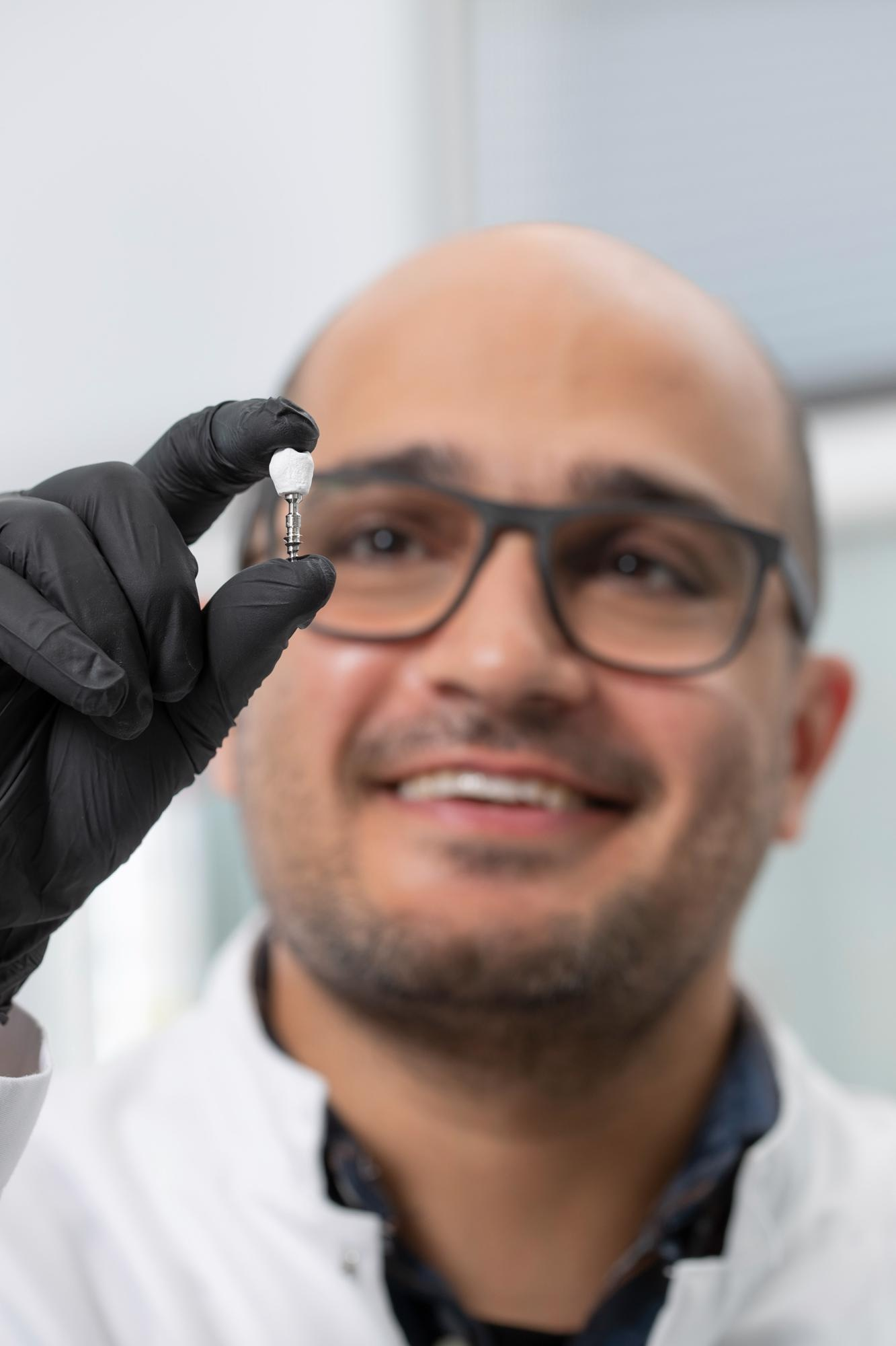 New Dental Implant Crowns Made of Cellulose-Based Nanocomposites.
