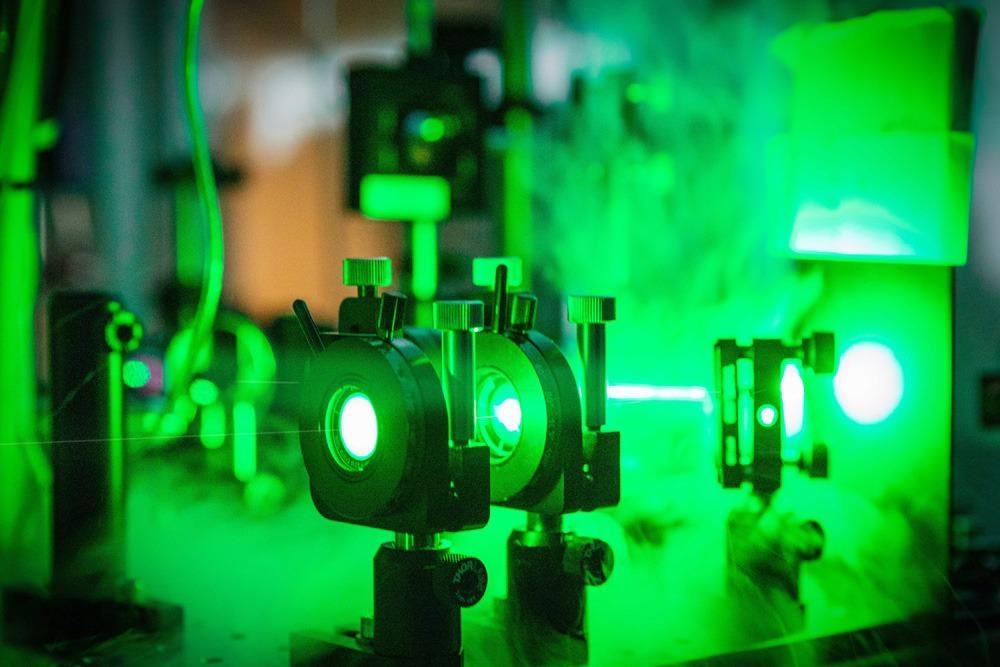 Researchers Guide Electron Pulses Through a Nanostructure Channel to Advance Particle Accelerators.