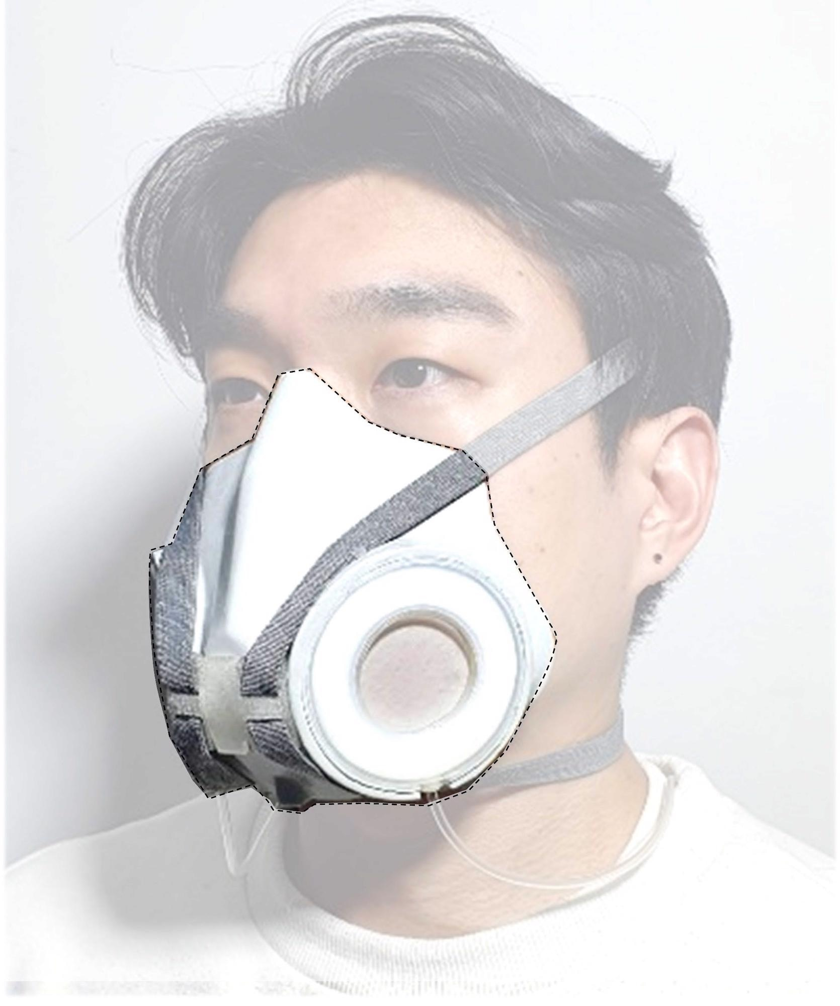 New Dynamic Respirator Modulates its Pore Size in Response to Changing Conditions