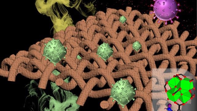 New Versatile Composite Fabric Helps Deactivate Biological, Chemical Threats