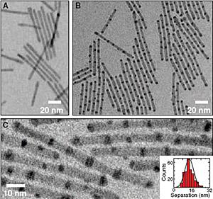 Berkeley Researchers Find New Way To Fabricate Striped Nanorods