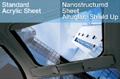 Nanostructured Acrylic Sheet Provides Lightweight Alternative to Glass