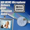 Analog Devices Introduces Low-Noise MEMS Microphone