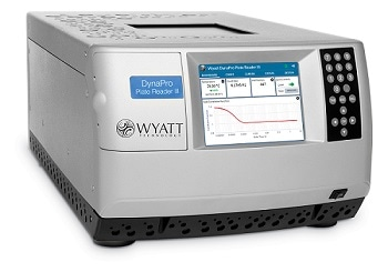 All new DynaPro® Plate Reader for Automated Characterization of Size, Molecular Weight and Stability of Macromolecules and Nanoparticles