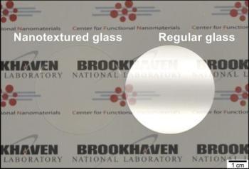 Nanotextured Glass Prevents Glare