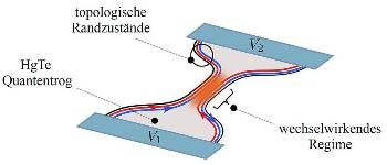 New Fundamental Nanoelectronic Device Based on HgTe, a Topological Insulator