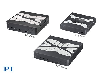 "XY Single Module Precision Linear Stage Family Available in 4"", 8"", 12"" Travel"