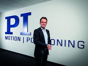 Markus Spanner Named New CEO of Physik Instrumente (PI) GmbH & Co. KG